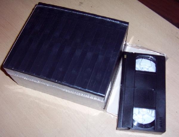 FUJI E-30 VHS videokazetta