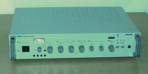 Philips SQ20 PA keverő-erősítő